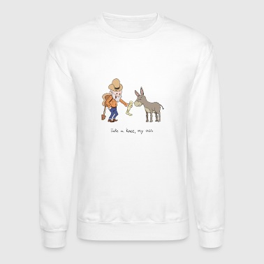 Take a knee my ass - Crewneck Sweatshirt