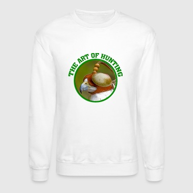 falconry - art of hunting - hunt - Crewneck Sweatshirt