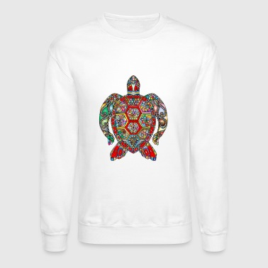 Sea Turtle Mandala - Crewneck Sweatshirt