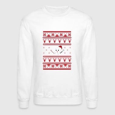 DENTIST Ugly Sweater For Christmas TOOTH - Crewneck Sweatshirt