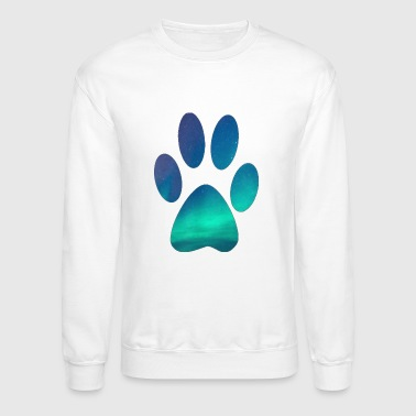 Dog Lover Dog Pawprint - Crewneck Sweatshirt