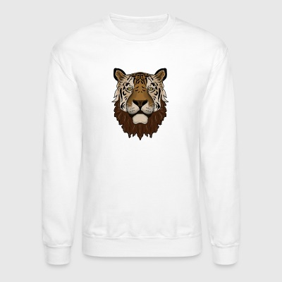 Beardy Tiger - Crewneck Sweatshirt