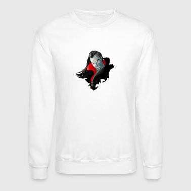 Count Dracula Vampire Monster - Crewneck Sweatshirt