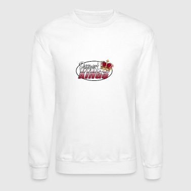 Passportkings white shirt design - Crewneck Sweatshirt