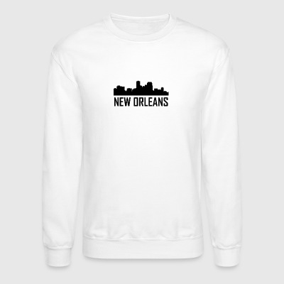 New Orleans Louisiana City Skyline - Crewneck Sweatshirt