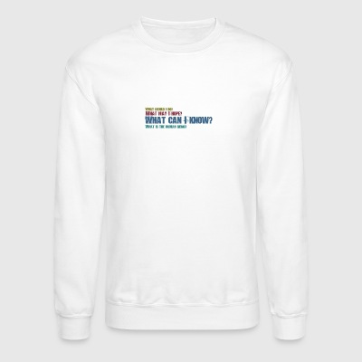 Philosphical Questions - Crewneck Sweatshirt