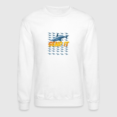 FLIPPIN SEND IT - Crewneck Sweatshirt
