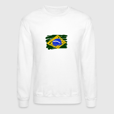 Brazilian Flag - Crewneck Sweatshirt
