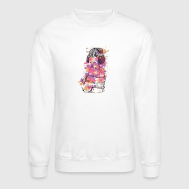 colorful_geisha - Crewneck Sweatshirt