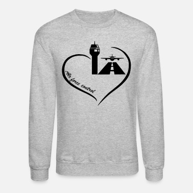Traffic Air Traffic Control Love Shirt - Crewneck Sweatshirt