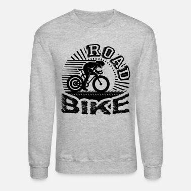 Road Love Road Bike Shirt - Unisex Crewneck Sweatshirt