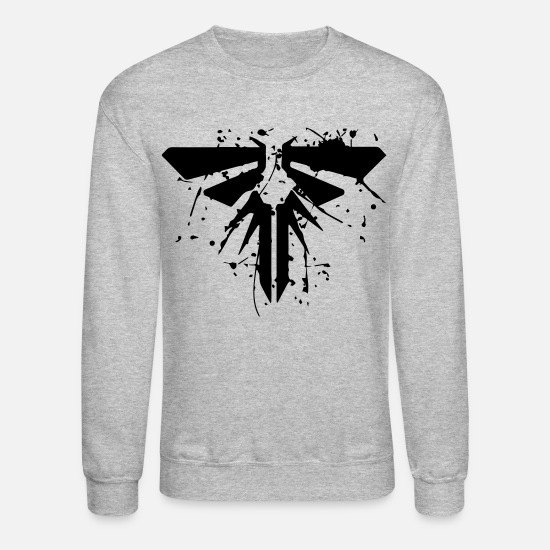 Last Hoodies & Sweatshirts - the last of us - Unisex Crewneck Sweatshirt heather gray