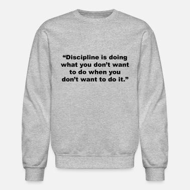 Men's Clothing Disciplined Sweatshirts