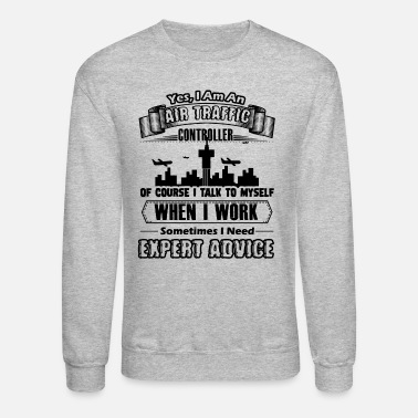 Traffic Air Traffic Controller Shirt - Unisex Crewneck Sweatshirt