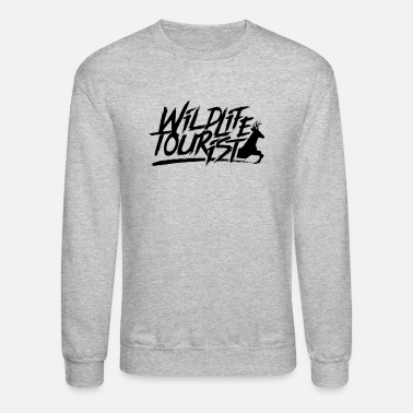 Wildlife Tourist Crew Wilderness Wildlife Tourist - Unisex Crewneck Sweatshirt