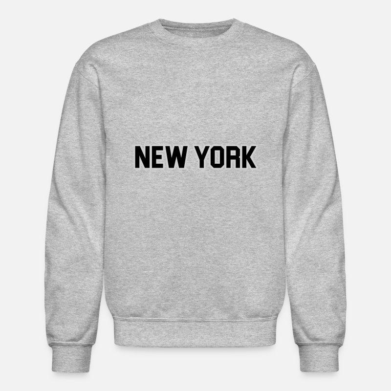 reputable site 226f5 b2203 New York Yankee - Black Crewneck Sweatshirt - heather gray