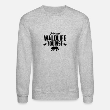Wildlife Tourist Crew Wildlife Tourist - Unisex Crewneck Sweatshirt