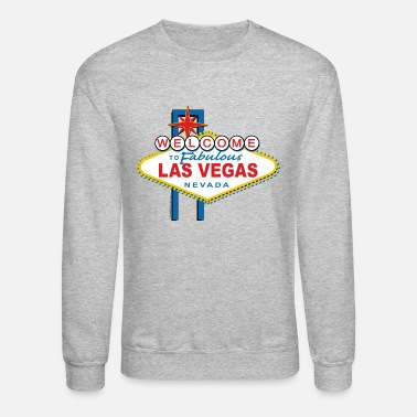 Vegas Welcome-to-Las-Vegas-Dist - Unisex Crewneck Sweatshirt