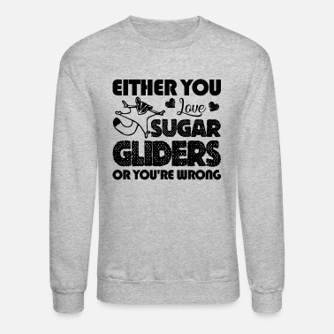 Glider Love Sugar Glider Shirt - Crewneck Sweatshirt