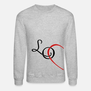 I Love LO - LOVE couple shirt - Unisex Crewneck Sweatshirt