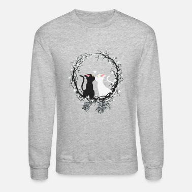 Moon moon cats - Crewneck Sweatshirt