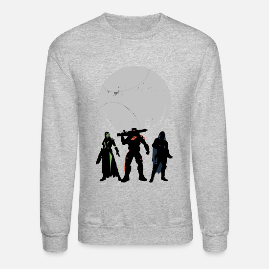 Destiny Hoodies & Sweatshirts - Destiny - Unisex Crewneck Sweatshirt heather gray