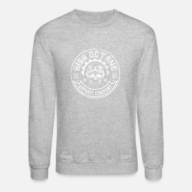 Skull And Bones MOTORCYCLE OCTANGE BONES SKULL APPAREL GIFT 2007 - Crewneck Sweatshirt