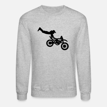 Toddler Motocross - Crewneck Sweatshirt