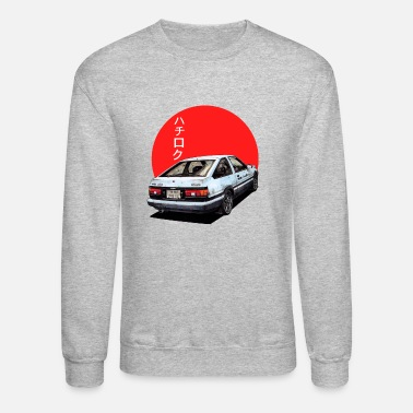 Initial AE86 Initial d Trueno Japan Movie - Unisex Crewneck Sweatshirt