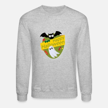 Trick Or Treat Halloween lebel - Crewneck Sweatshirt