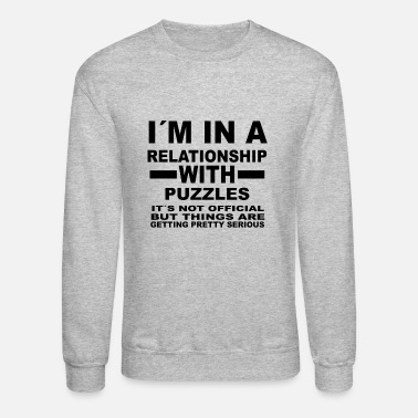 Puzzle relationship with PUZZLES - Unisex Crewneck Sweatshirt