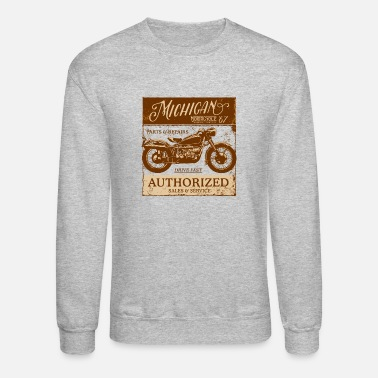 Michigan Motorcycle Sales & Service - Unisex Crewneck Sweatshirt