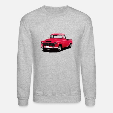 Old School Old school truck red - Unisex Crewneck Sweatshirt