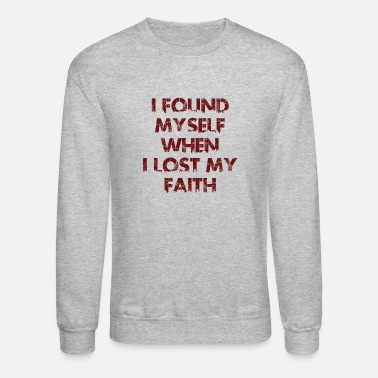 Found Myself1 - Unisex Crewneck Sweatshirt
