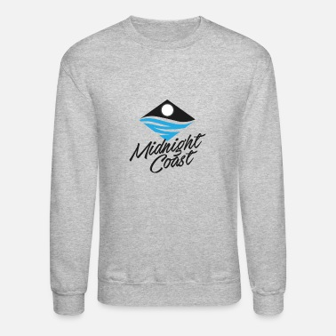 Midnight Coast Logo - Unisex Crewneck Sweatshirt