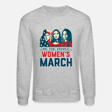 Womens Women's March 2017t shirt - Unisex Crewneck Sweatshirt