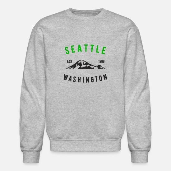 Rustic Vintage Seattle Washington Mt Rainer Est 1869 Classic