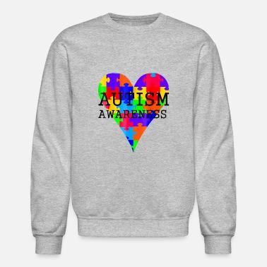 141b1bbdf2 Autism Awareness Novelty Tshirt - Unisex Crewneck Sweatshirt