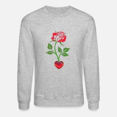Maine Beauty and the Beast - Enchanted Rose - Unisex Crewneck Sweatshirt