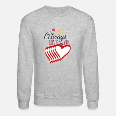 Basket Valentines day tshirt gift for her or him. - Unisex Crewneck Sweatshirt