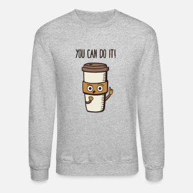 Comics You Can Do it Coffee - Crewneck Sweatshirt