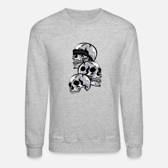 No Hoodies & Sweatshirts - See No Evil, Hear No Evil, Speak No Evil - Unisex Crewneck Sweatshirt heather gray