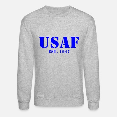 Us US Air Force Est Design - Unisex Crewneck Sweatshirt