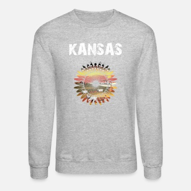 Kansas Nation-Design Kansas Sunflower | DrMg0 - Unisex Crewneck Sweatshirt