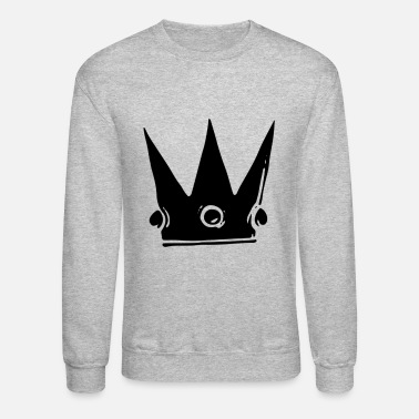 Queen Crown King Queen - Unisex Crewneck Sweatshirt