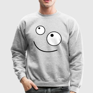 FUNNY FACE looking up - Crewneck Sweatshirt