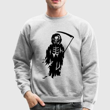 A Grim Reaper - Death with a scythe - Crewneck Sweatshirt