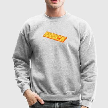 a simple keyboard - Crewneck Sweatshirt