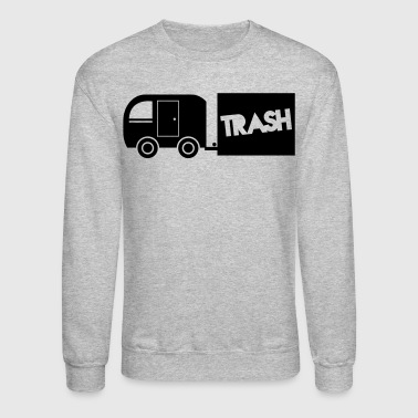 trailer trash towing cargo  - Crewneck Sweatshirt
