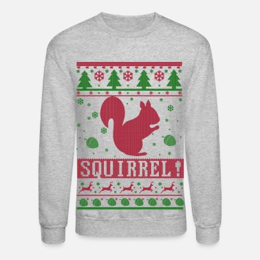 Squirrel Ugly Christmas - Crewneck Sweatshirt
